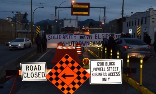 Port of Vancouver blockade, Dec 2, 2013.