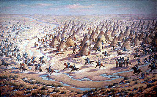 Sand Creek Massaker