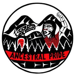 Ancestral pride logo Colour