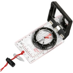Silva Ranger compass, with mirror used for navigation as well as signaling.