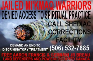 New Brunswick Mi'kmaq warriors spiritual