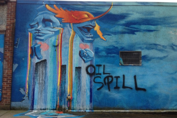 Graffiti No Pipelines 3