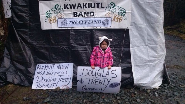 KWAKIUTL FIRST NATION - Kwakiutl First Nation Continues Protest