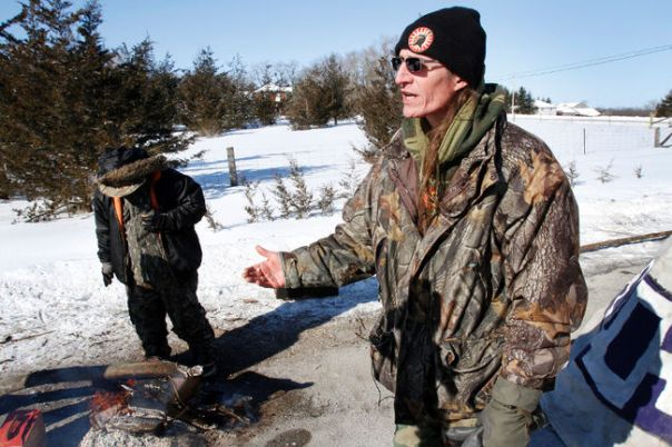 Tyendinaga Mohawk blockade Shawn Brant