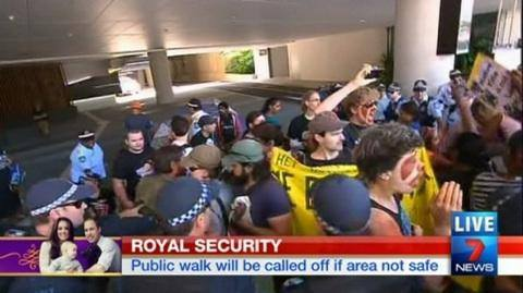 Australia Royal Welcome 1