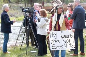 Klamath protest 1