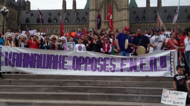 "The ""National Day of Resistance"" rally  in Ottawa, may 14, 2014."