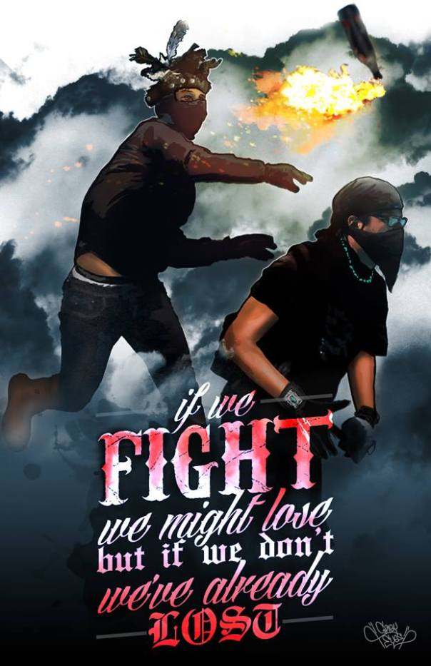 If We Fight painting