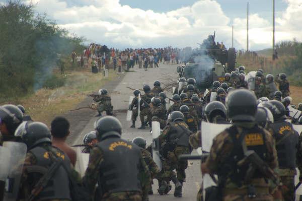 Peru 2009 repression