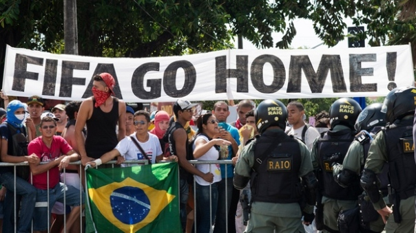 Brazil FIFA go home