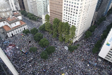In the summer of 2013, millions of people rallied in cities across Brazil.