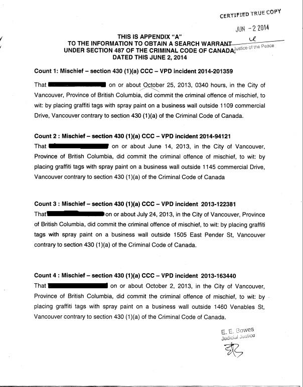 Warrant 2 Redacted