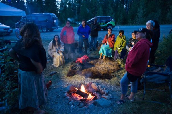 Mount polley secwepemc camp 2