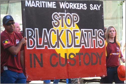 Australia aboriginal deaths custody 1