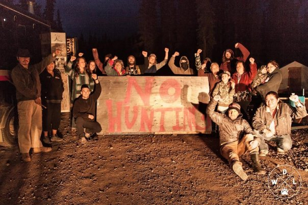 Tahltan hunting blockade
