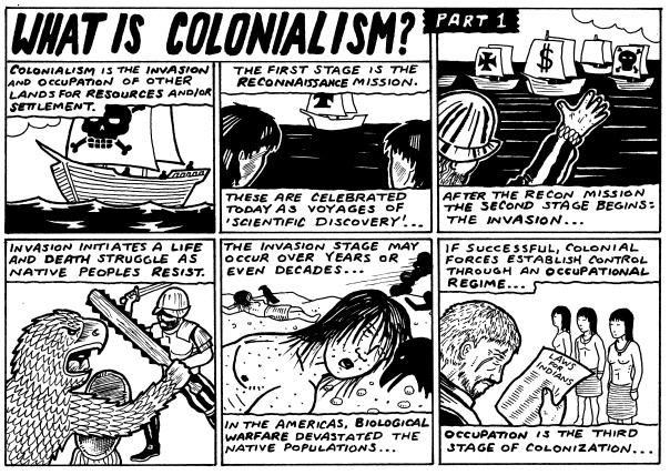 Colonialism Comic 1
