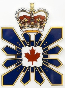 Logo of the Canadian Security Intelligence Service (CSIS).