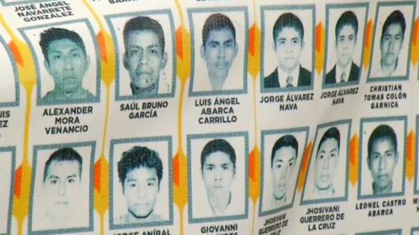 Some of the 43 missing/murdered students.