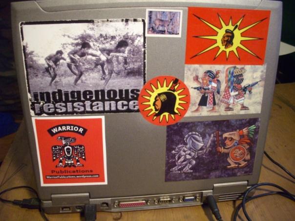 Warrior Publications 2 laptop