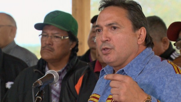 The new head of the Assembly of First Nations Perry Bellegarde.