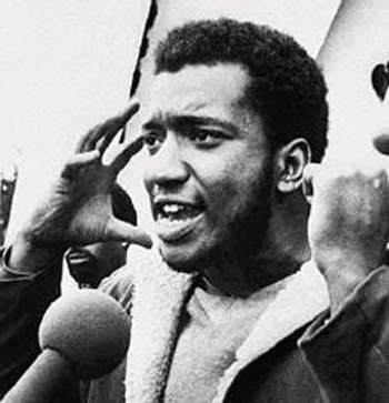 Fred Hampton, Chicago Black Panther Party, 1968.