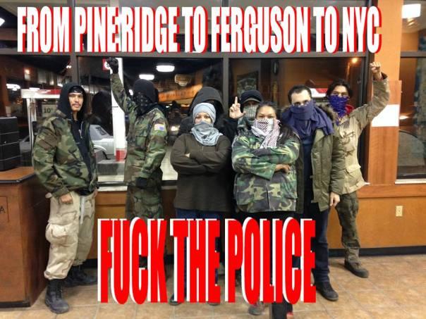 Ferguson pine ridge solidarity