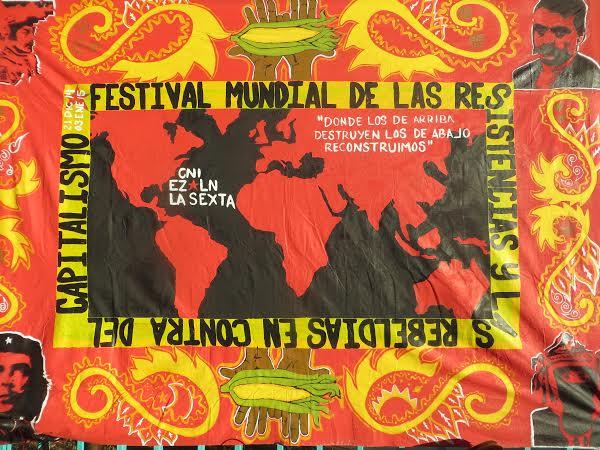Festival Resistance banner