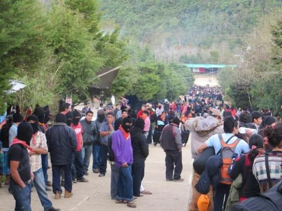 Festival of Resistances in Oventic, Chiapas.