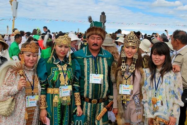 Yakut dancers.