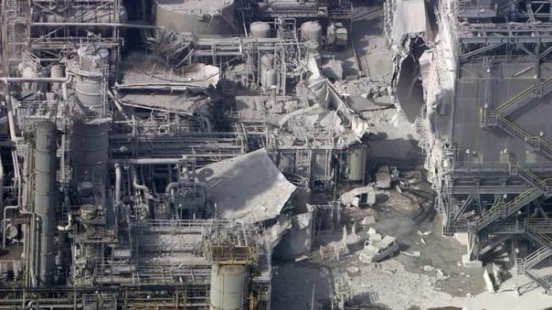 Exxon refinery explosion 2