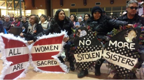 Hundreds of family and supporters of missing and murdered women gathered at the University of Winnipeg to honour their memories and to call for action.  CTV Winnipeg.