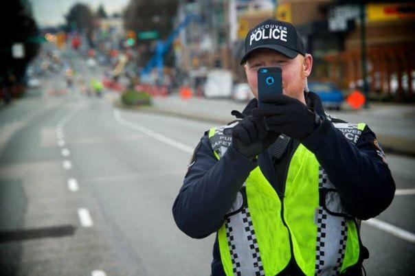 VPD Constable McKinnon.  Source: Facebook.