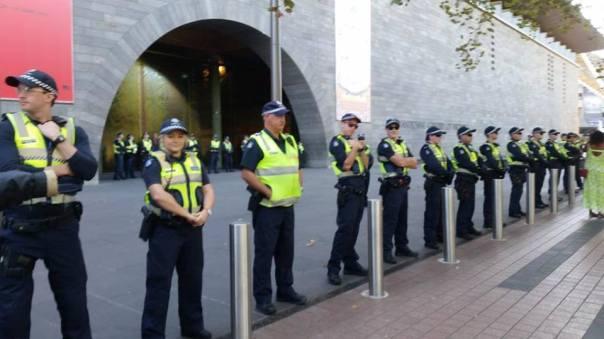 Australia eviction protest 1