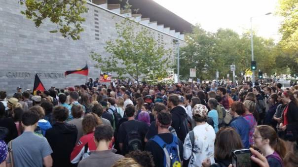Australia eviction protest 2