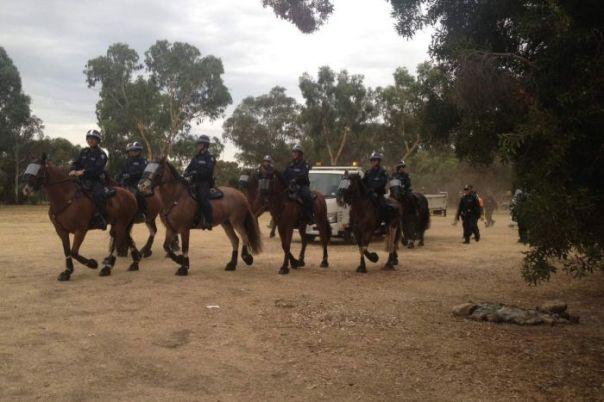 Australia eviction protest 4