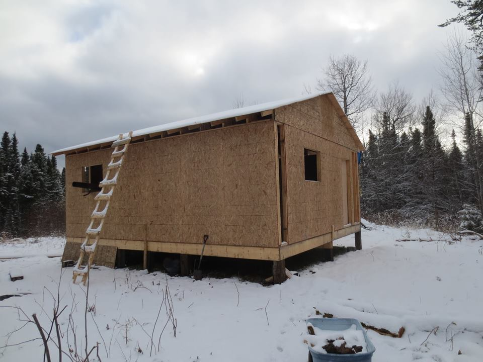 Victory for ojibway woman building own home in northern for Building a house in ontario