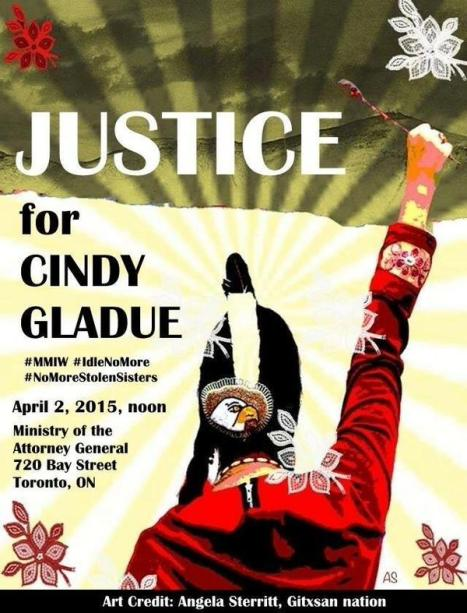 MMIW cindy gladue poster