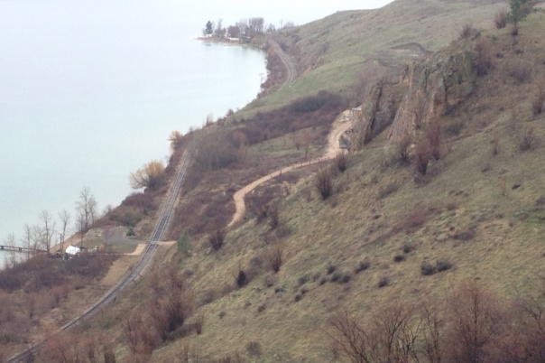 Okanagan cn rail land