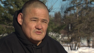 Chris Brooks, a former correctional officer at the Atlantic Institution in Renous, and he is now a spiritual leader for native offenders. (CBC)