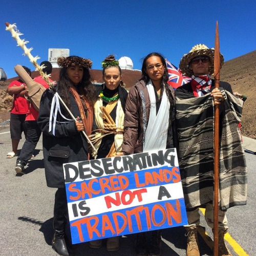 Hawaii telescope blockade 8