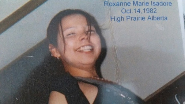 Roxanne Marie Isadore.