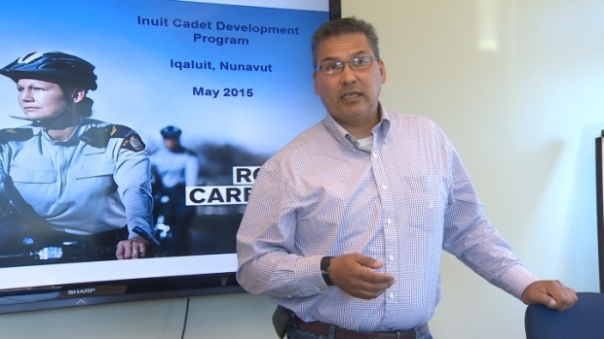 Inuit RCMP Sgt Merle Carpenter. Photo: CBC News.