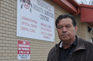 Randy Littlechild, executive director of Maskwacis Health Services. Photo: CBC News,