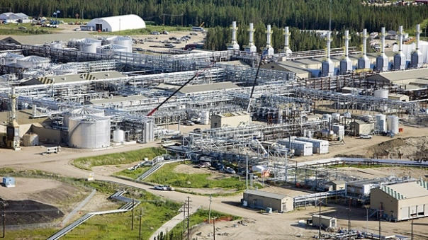 Cenovus Energy's Foster Creek plant in northeast Alberta. (Canadian Press/Cenovus )