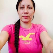 Chasity Spence fro Nisichawayasihk Cree Nation.