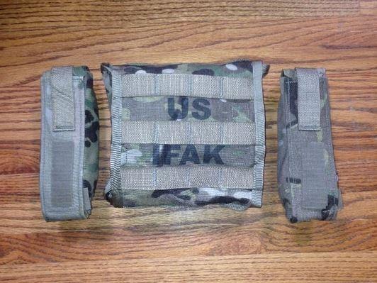 IFAK 2 with two tourniquet pouches.
