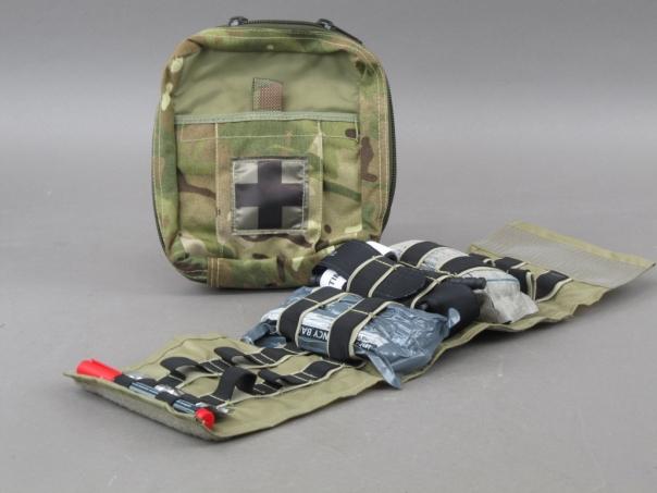 British military first aid kit.