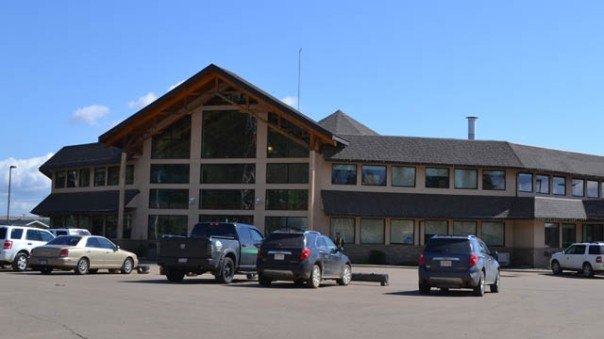 Band office at Fort McKay. photo: APTN