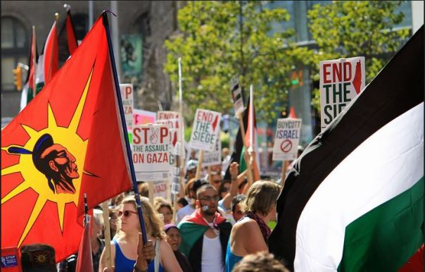 Palestine Indigenous solidarity 1