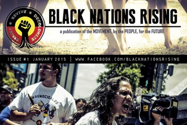 Australia black nations rising